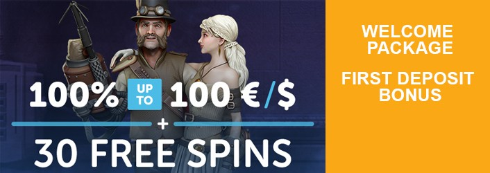 Play Casnio First deposit bonus