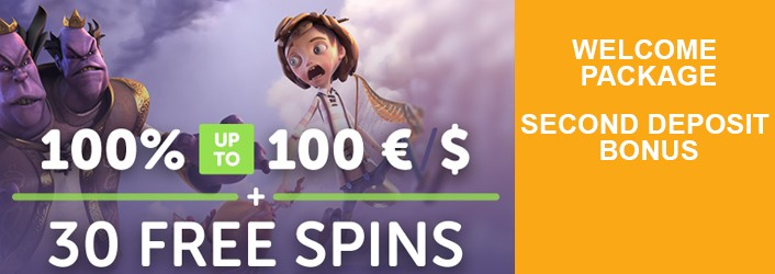 Play Casino Second deposit bonus