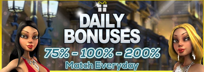 Vegas Crest Daily Promotion