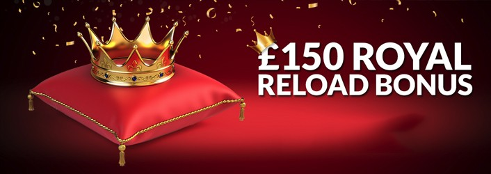 The Palaces Royal Reload Casino Bonus