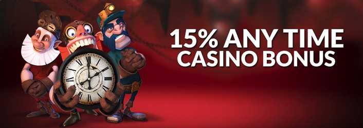 The Palaces 15% Anytime Casino Bonus